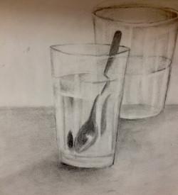 Spoon in water