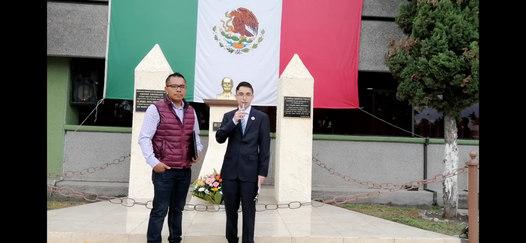 Con el Ing. Hanz Martínez