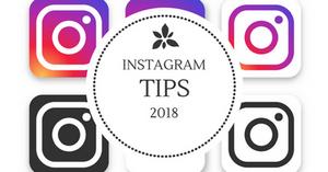 Instagram tips 2018