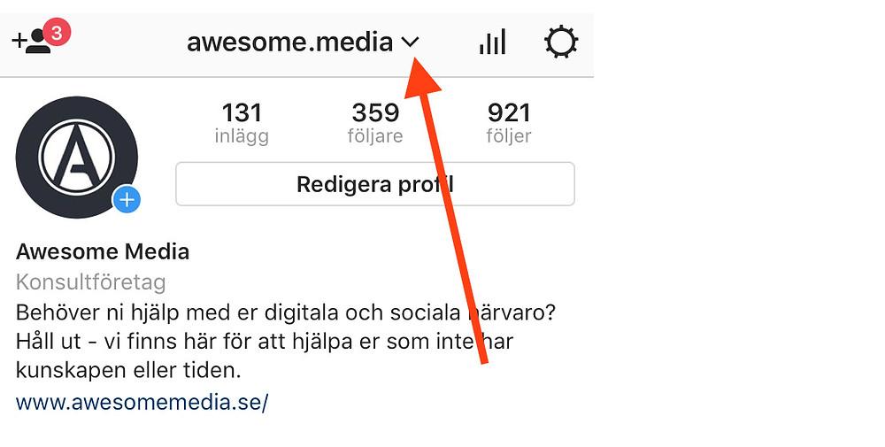 Awesome media instagramkonto
