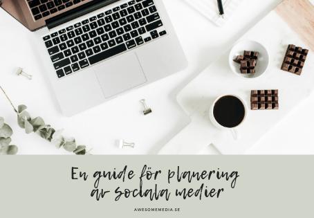 Planering av sociala medier