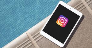 Instagram på iPad