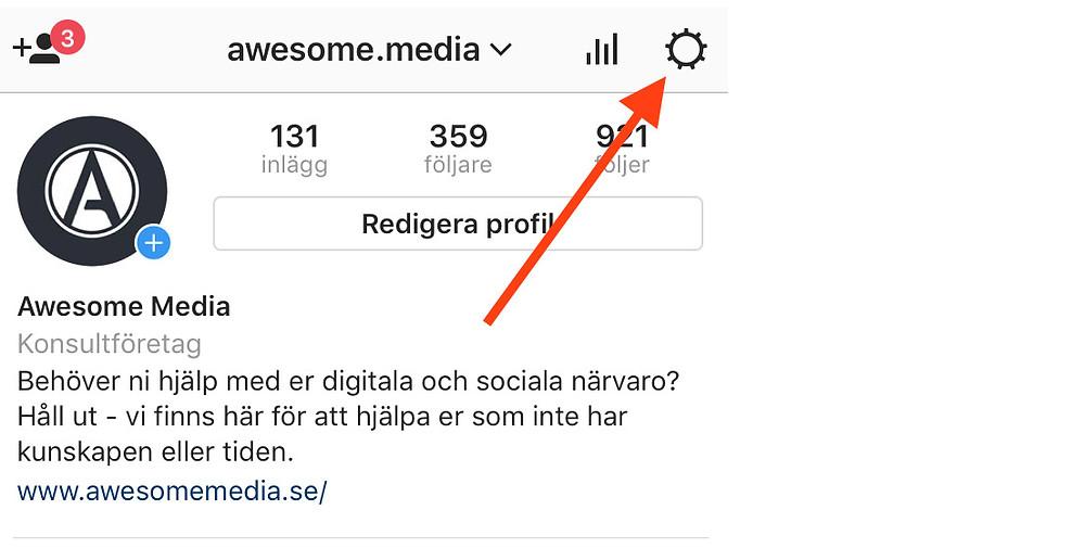 Awesome media instagramkonton