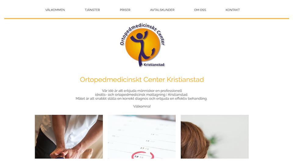 Ortopedmedicinskt center Kristianstad