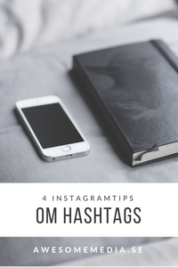 4 instagramtips om hashtags