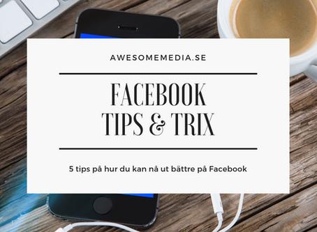 Facebook - Tips & Trix 2019