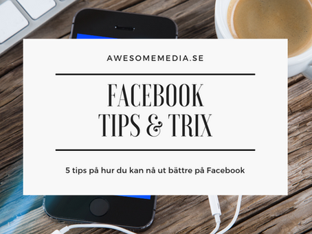 Facebook - Tips & Trix 2019