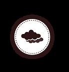 White Cloud Badge