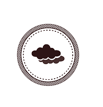 White Cloud Badge