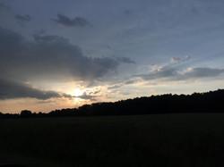 Sunrise, Sun rays