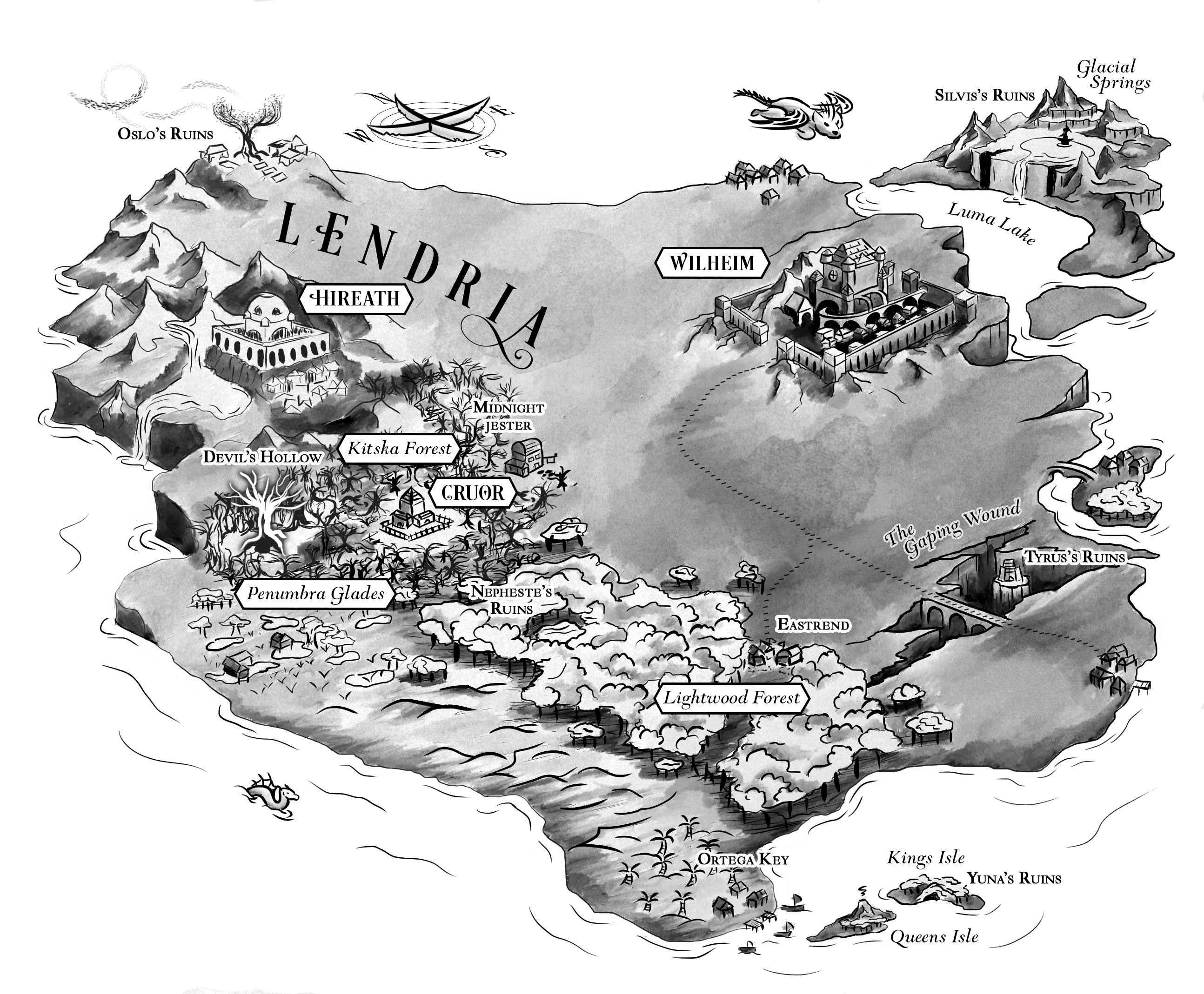 Kingdom of Exiles, Maxym Martineau
