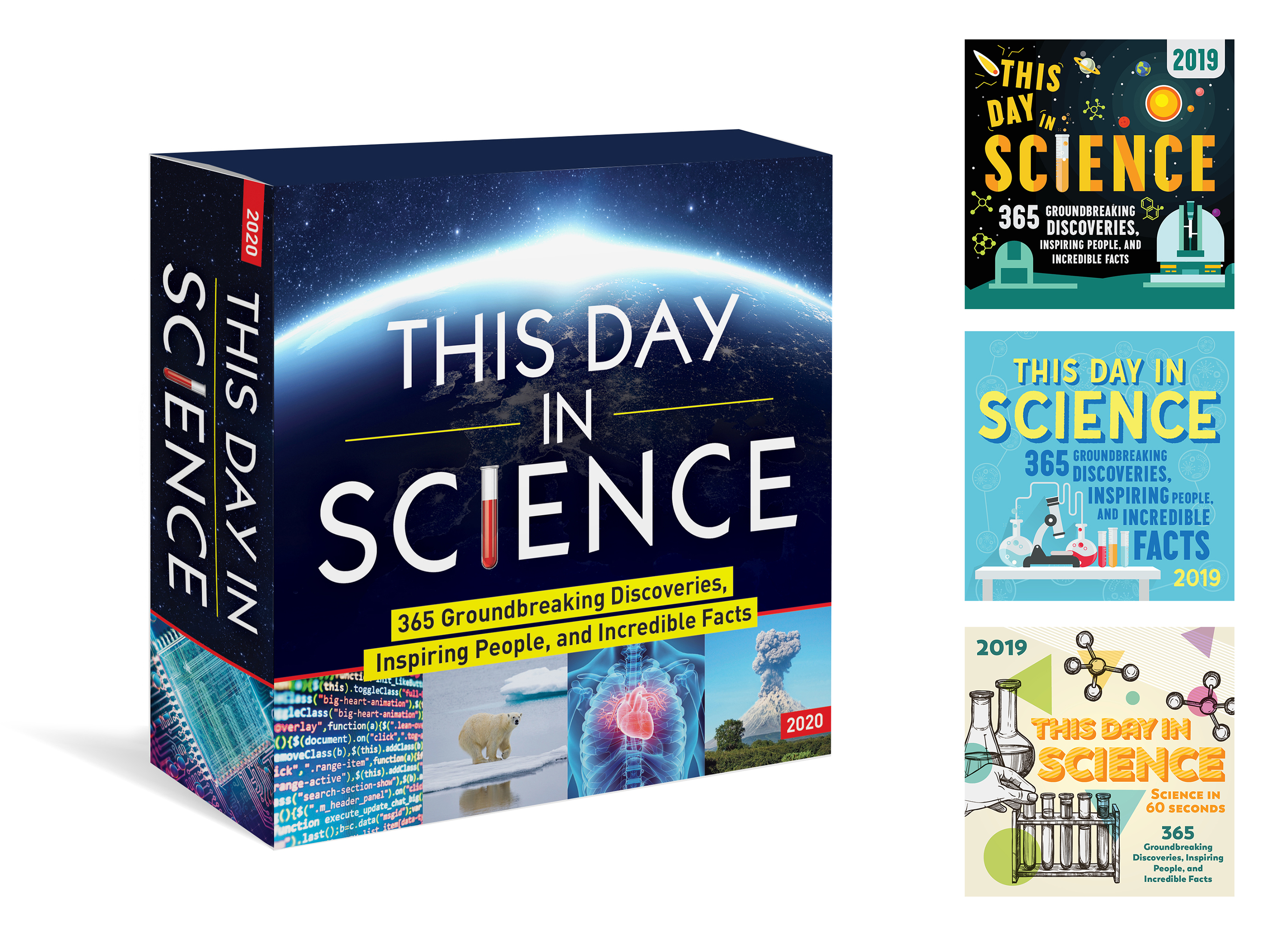 This Day in Science box calendar