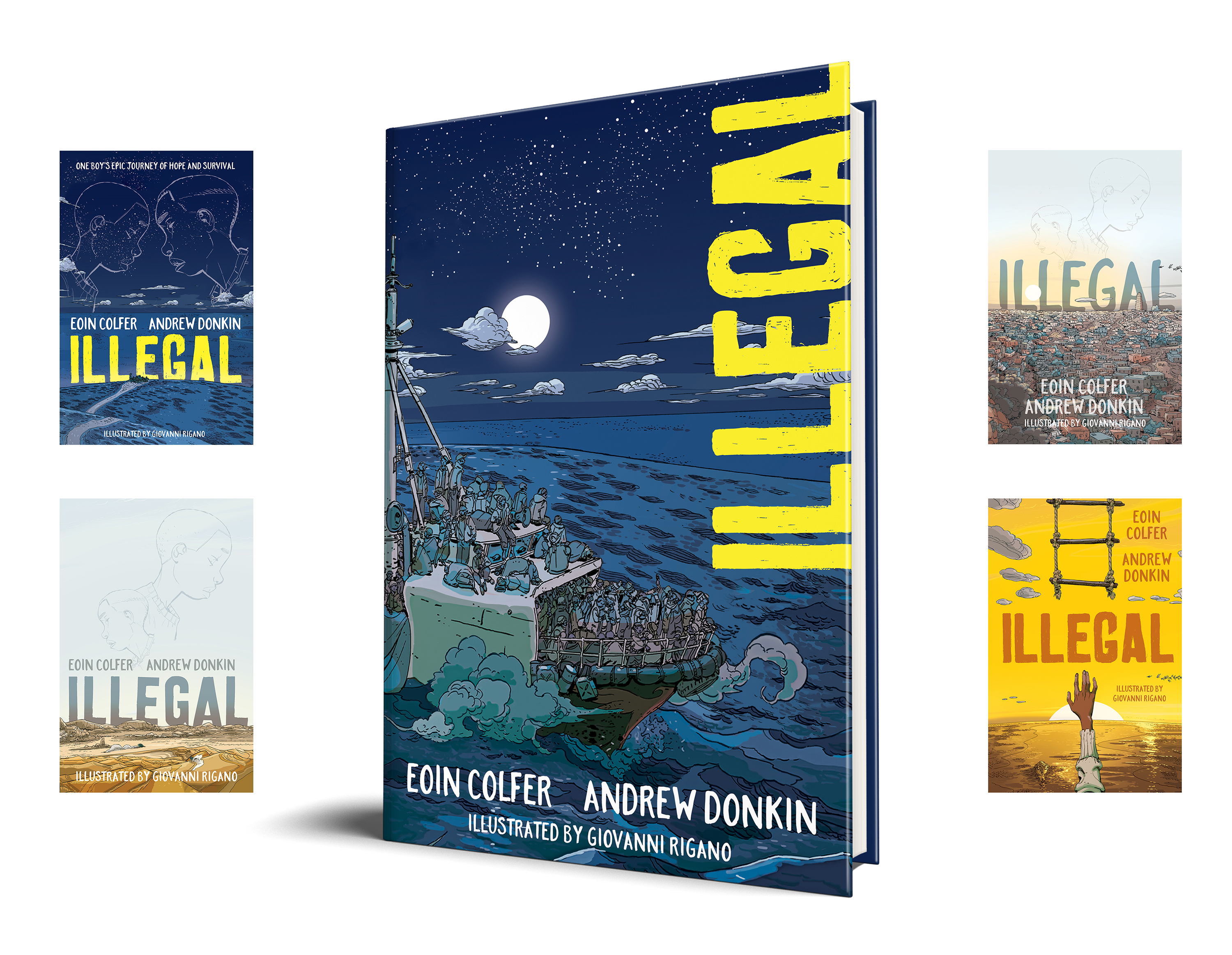 Illegal, Eoin Colfer