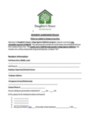 Resident Agreement / Rules
