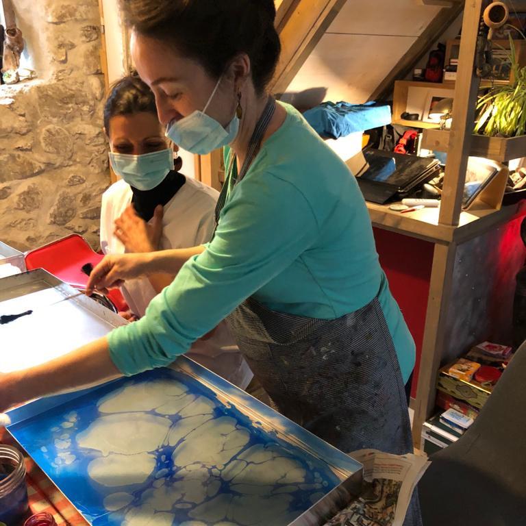 Atelier Hebdomadaires: L'éphémère au bout des doigts  (1)