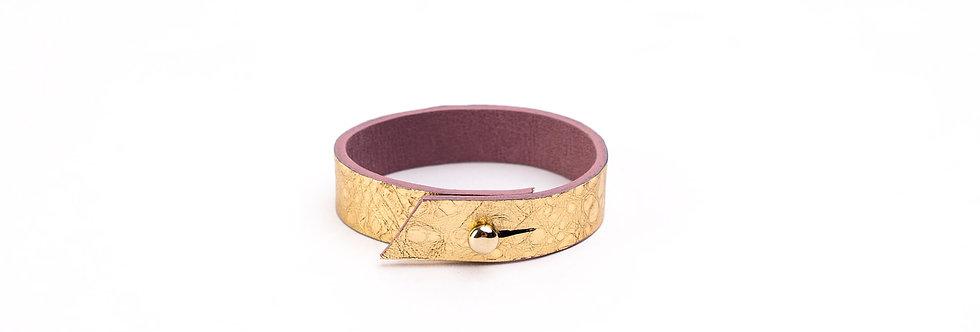 Double agent bracelet - GOLD BUBBLE