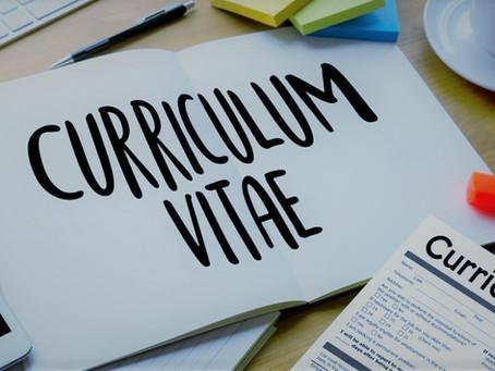 2021 - New Year, New Job - CV Advice