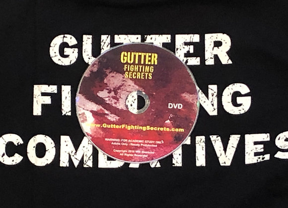Gutter Fighting Combatives Physical Copy (DVD)