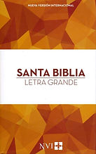 Santa Biblia Bible - Spanish NVI large print