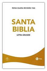 Santa Biblia Bible - Spanish RVR  large print paperback