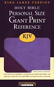 KJV Giant Print lilac-violet