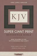 KJV Super Giant Bible