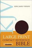 BIBLE - KJV Large Print Compact Burgurndy