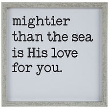 Wall Decor - Mightier than the Sea