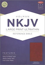 NKJV ultra thin large print