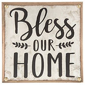 Table Decor - Bless our Home