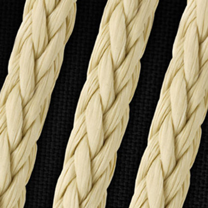 "3/8"" Vectrus Single Braid Clear coat Rope"