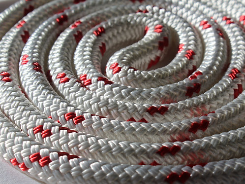 """1/2"""" Yale Cordage ULS Yacht Braid Code Red by the foot"""