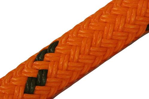 "Double Esterlon 5/8"" - MJ Orange - 17,000 lb Breaking Strength"