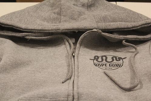 Hoodie - Rope Guru logo