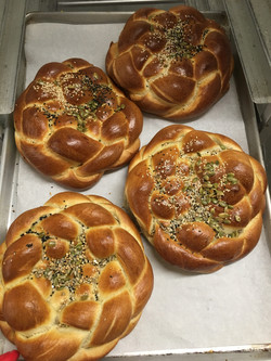 Holiday Honey Challah with Grains