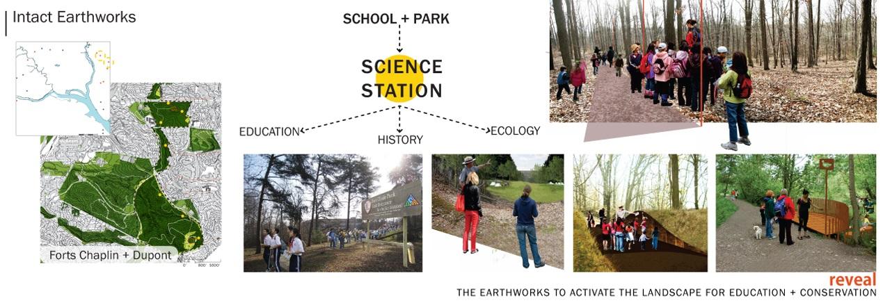 Intact earthworks