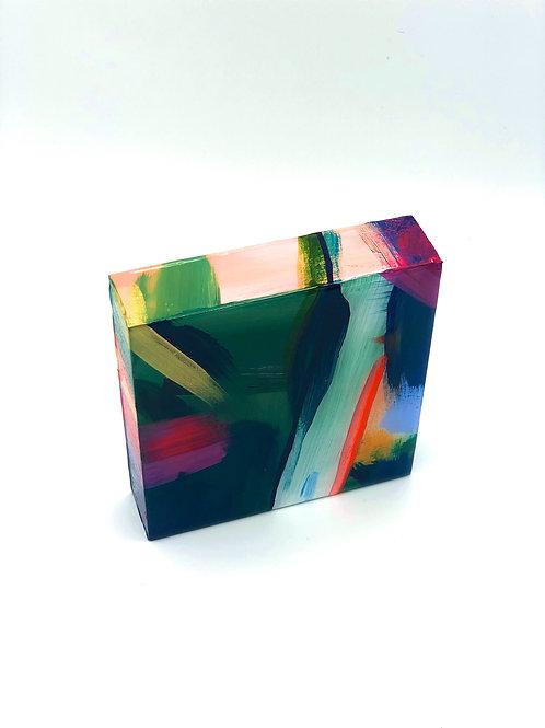 6x6 Resin Block No.7