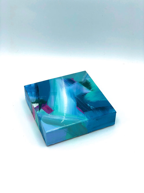6x6 Resin Block No.5