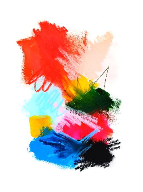 Color Splash No.2 Print