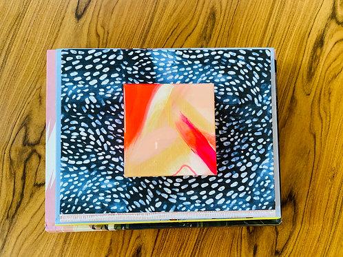 3x3 Resin Block No.18