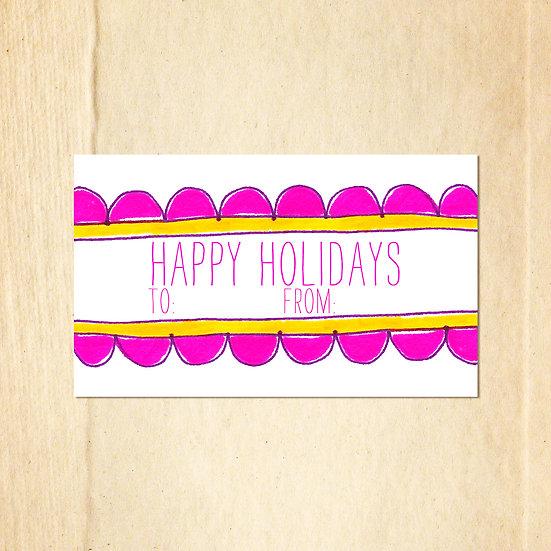 Scallops happy holidays