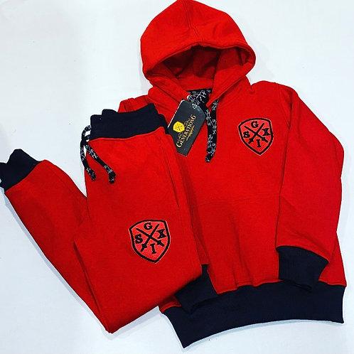 G6 Unsiex Red/Black 2Tone Trackset