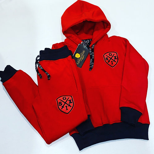 G6 Kids & Youth Red&Black Trackset