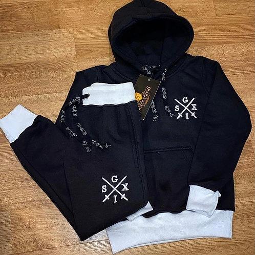 G6 Unisex Black/White 2Tone Trackset