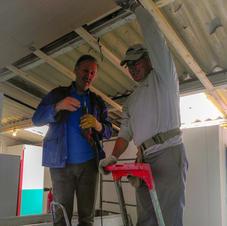 Faux plafond Yvan & JP