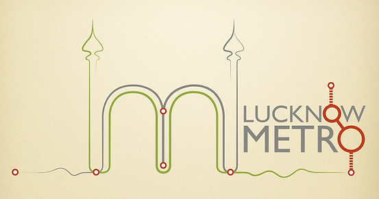 Competition Entry Logo for 'Lucknow Metro Rail Corporation'