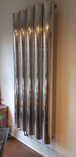 tall shiny radiator