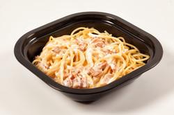 Spaguettis a la Carbonara