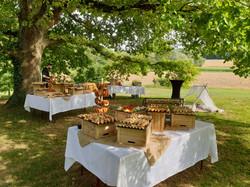 aperitif de mariage