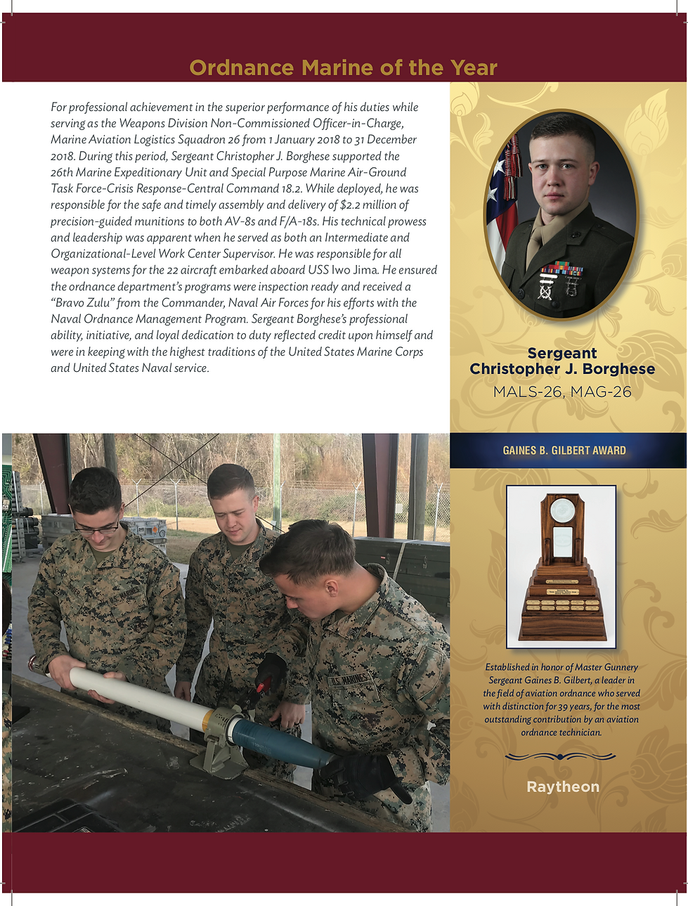 2019 Gaines B. Gilbert Award